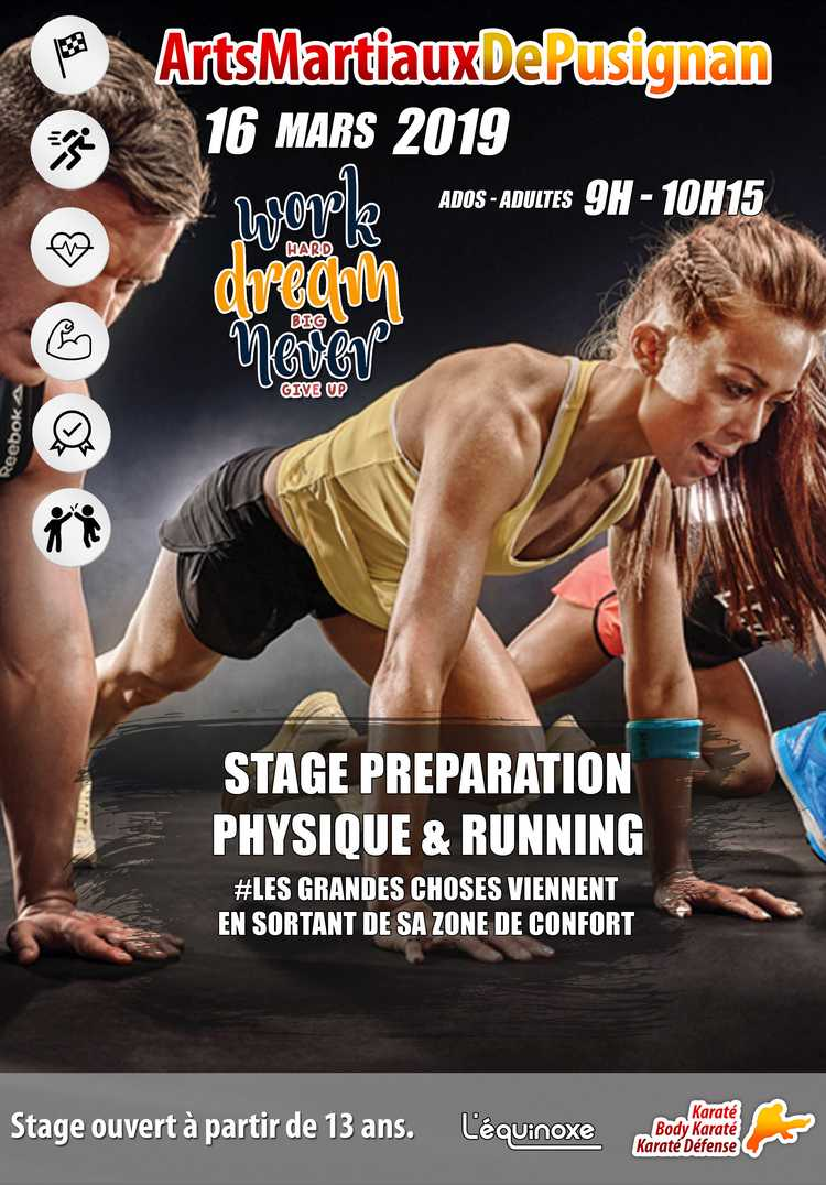 Flyer stage de remise en forme